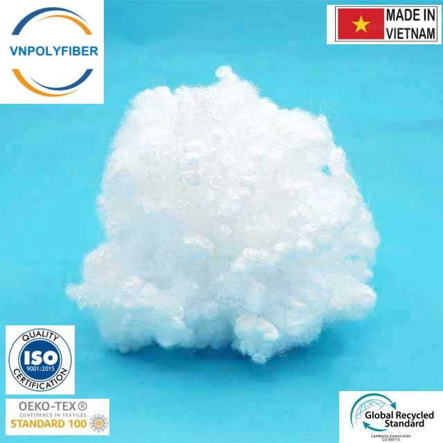 Recycled 7D 15D Hollow Conjugated Polyester Staple Fiber Fill Stuffing
