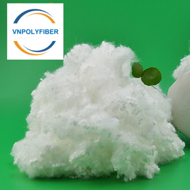 GRS Certificate Polyester Staple Fiber 15D 64mm HC non-siliconized