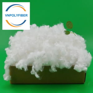 Soft touch and high tenacity recycled Hollow Conjugated polyester fiber