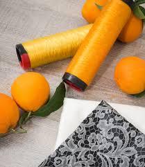orange fibers
