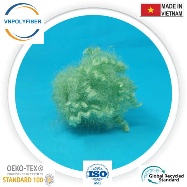 Green Recycled Hollow Conjugated Fiber 432524