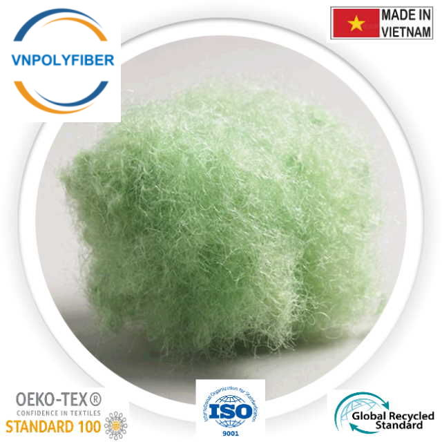 Green Recycled Hollow Conjugated Fiber 234235